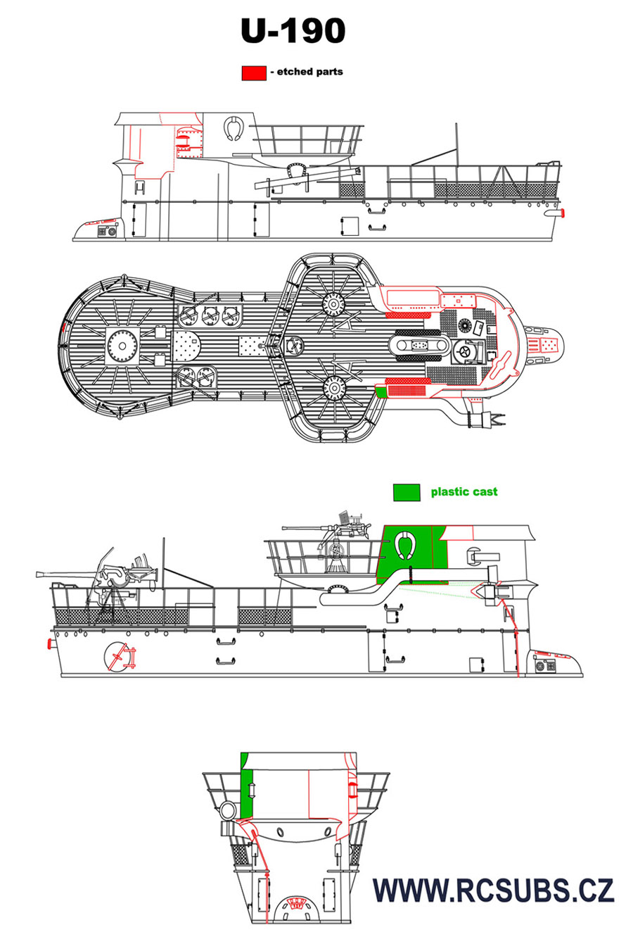 U-190 : Type IXC/40 German U-boat